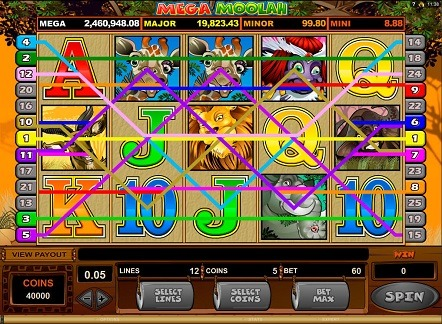 Mega-Moolah game