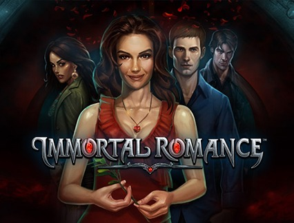 Immortal romance cover art