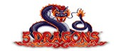 Logo of 5 Dragons slot