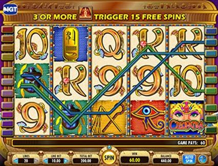 Cleopatra screenshot 2 NOP