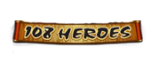 Logo of 108 Heroes slot