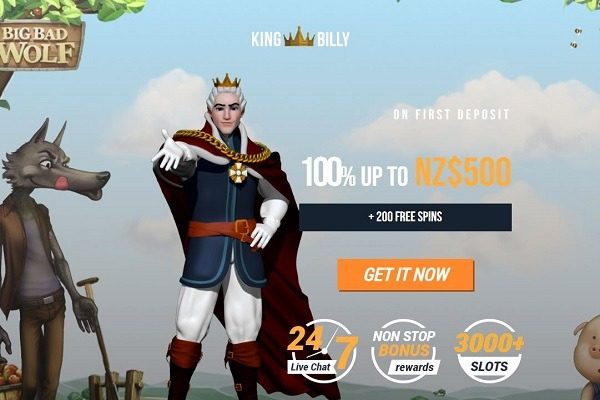 King Billy LP 500 Bonus 600x400