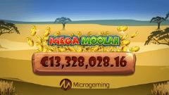 Mega Moola Pokie Machine Jackpot