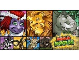 Mega Moolah Animal Symbols