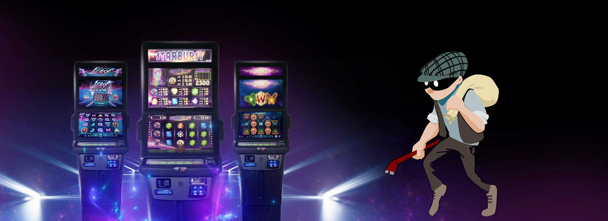 Thief hacking slot machines with online slots